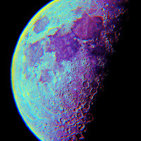 Moon Art Print by Starstuff