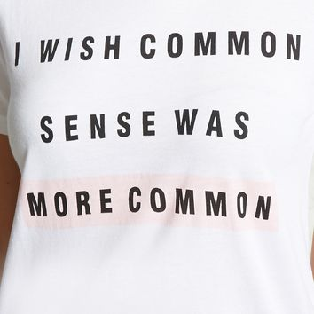 More Common Graphic Tee