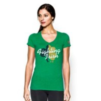 Under Armour Women's 2015 Notre Dame Logo T-Shirt
