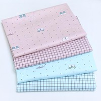 Twill Cotton Fabric for Sewing Craft DIY Quilting Patchwork Tissue Kids Bedding Textile Tilda Tissue Doll Cloth Fabric an Meter