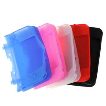 Silicone Soft Gel Protection Case Cover for Nintendo 3DS XL LL