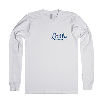 Big Sis Lil Sis Reveal Long Sleeve Tee - Little - We Are Family