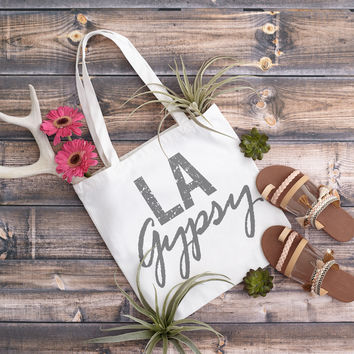 LA Gypsy Canvas Tote