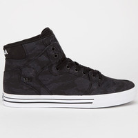 Supra Vaider Mens Shoes Night Camo/White  In Sizes