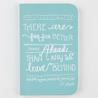 Denik C.S. Lewis Notebook Mint One Size For Women 25282652301