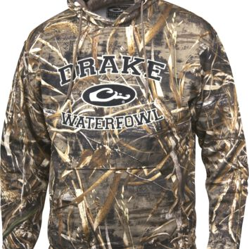 Drake Men's Waterfowl Systems Embroidered Camo Hoodie