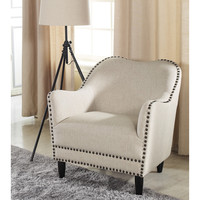 Wholesale Interiors Cortland Club Chair in Beige