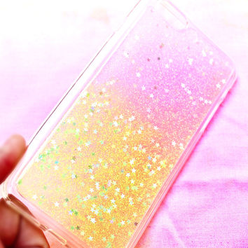 Stars and Glitter iPhone Case