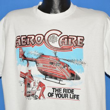 "90s Aerocare ""The Ride Of Your Life"" t-shirt Extra Large"