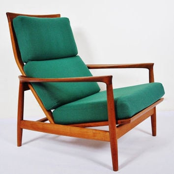 Folke Ohlsson for Dux Swedish Teak Armchair