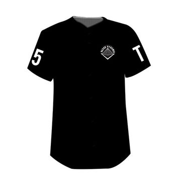 Black Pyramid 'The Home Run' Baseball Jersey