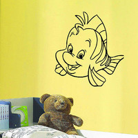WALL DECAL VINYL STICKER CARTOON THE LITTLE MERMAID ROOM NURSERY DECOR SB295