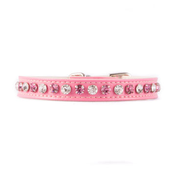 Pink Multicolor Jeweled Collar