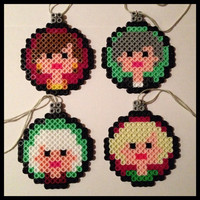 Golden Girls Christmas ornaments (Set of 4)