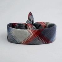 From Me To You Plaid Scarf