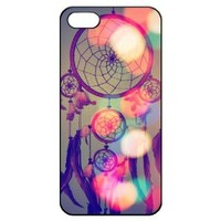Dream Catcher Iphone 5 5s Hard Back Shell Case Cover Skin for Iphone 5/5s Cases - Black/white/clear