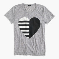J.Crew Womens Split Heart T-Shirt