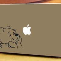 Apple Macbook Vinyl Decal Laptop Sticker Winnie The Pooh Bear