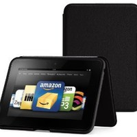 "Amazon Kindle Fire HD 7"" (Previous Generation) Standing Leather Case, Onyx Black (will only fit Kindle Fire HD 7"", Previous Generation) - will not fit new Fire HD 7"