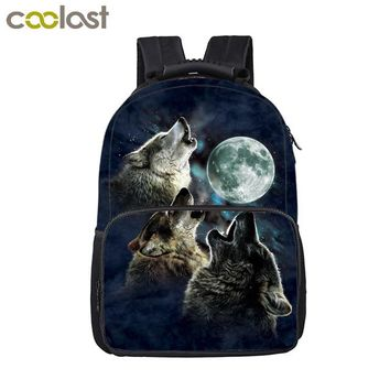 Cool Backpack school Cool Death Skull / Unicorn Backpack For Boy Children School Bags Men Women Punk Laptop Backpacks Schoolbags Kids School Backpack AT_52_3