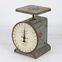 Kitchen Scale, Vintage Scale, Old Scale, Old Farm Scale, Rustic, Industrial