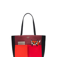 Kate Spade Blaze A Trail Fox Pocket Tote Multi ONE
