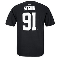 Reebok Tyler Seguin Dallas Stars Player Name & Number T-Shirt - Black