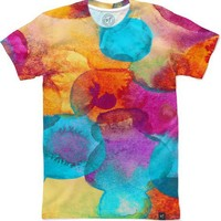 Watercolor Experiment Men's T-Shirts by Elisabeth Fredriksson | Nuvango