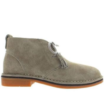 ESBONIG Hush Puppies Cyra Catelyn - Taupe Suede Chukka Boot