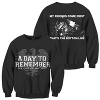 A Day To Remember: Friends Crew Neck Sweatshirt