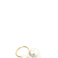 Have A Ball Double Faux Pearl Ring