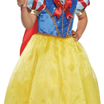 disney storybook snow white prestige child / toddler costume - medium (7-8)