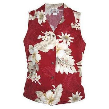 chili hawaiian sleeveless blouse
