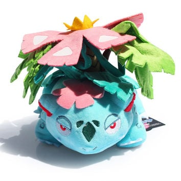 "Venusaur Plush Toy With Tag Cute Pokemon Collective Dolls 6""15CM Free Shipping"