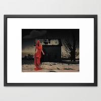 Welcome Framed Art Print by Galen Valle
