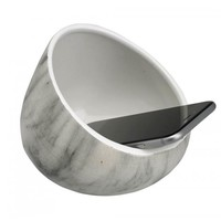 White Marble Boom Bowl