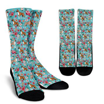 Boxer Flower Socks - Promo