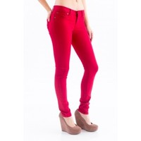 Gossip Girl Jeggings-Cranberry