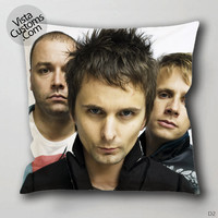 Muse British Rock Band Logo4 Pillow Case, Chusion Cover ( 1 or 2 Side Print With Size 16, 18, 20, 26, 30, 36 inch )