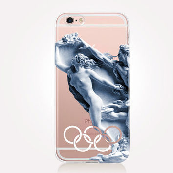 Transparent Olympia iPhone Case - Transparent Case - Clear Case - Transparent iPhone 6 - Transparent S7 - Transparent iPhone 4