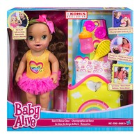 Baby Alive Darci's Dance Class Brown Hair Doll by Hasbro