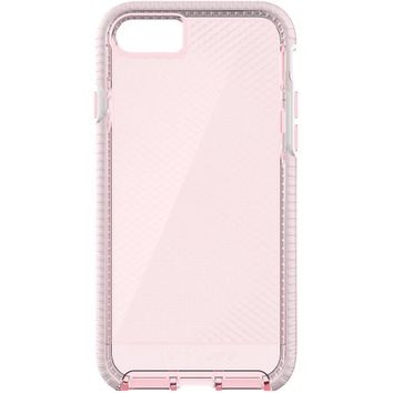 Tech21 T21-5347 Drop Protection Flexible, Abrasion Resistant TPU Material Evo Check Case for iPhone 7 Plus - Light Rose/White - Walmart.com