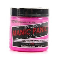 Manic Panic Semi-Permanent Hair Color Cream, Cotton Candy Pink 4 fl oz.