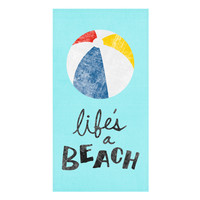 Life's a Beach Towel