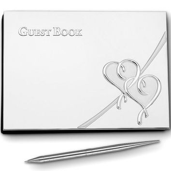 LENOX True Love Guest Book with Pen
