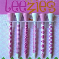 All About Pink Golf Tees