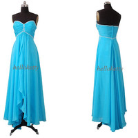 Blue Bridesmaid Dresses,Evening Dresses,Summer Dresses,Homecoming Dresses,Party Dresses,Maxi Dresses,Long Prom Dresses,Fancy Dresses,GK037