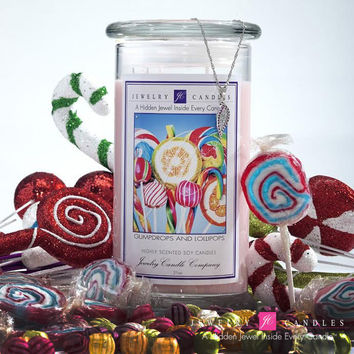 Gumdrops And Lollipops Jewelry Candles