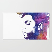 Purple Rain Rug by Miss L in Art