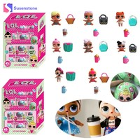 24pcs/lot LOL Surprise doll Beads Surprise Doll Color Change Water Spray Egg Action Figure Toys Girls gift Beads without ball